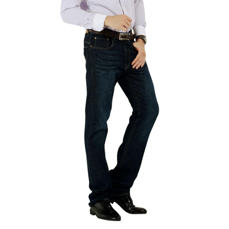 Wow Brand Jeans Men Jeans Big Tall Casual Denim 100 Cotton Low Waist Fit Straight Leg
