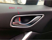 4 шт хромированные Стикеры для межкомнатных дверей автомобиля