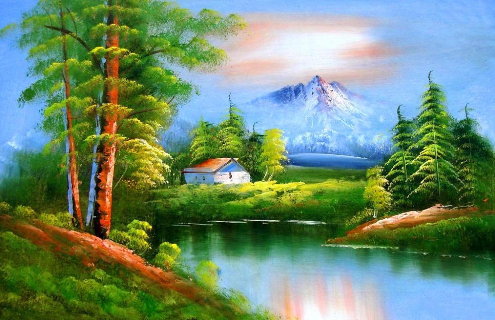 Popular 3d Landscape Paintings Buy Cheap