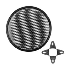 10″ Inch Universal Metal Audio Sound Klaxon SubWoofer Cover Shielding Protector