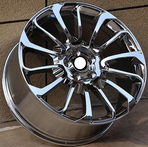 chrome 19 20 21 22 inch 5x108 5x120 car aluminum alloy wheel rims fit for land rover evoque. Black Bedroom Furniture Sets. Home Design Ideas