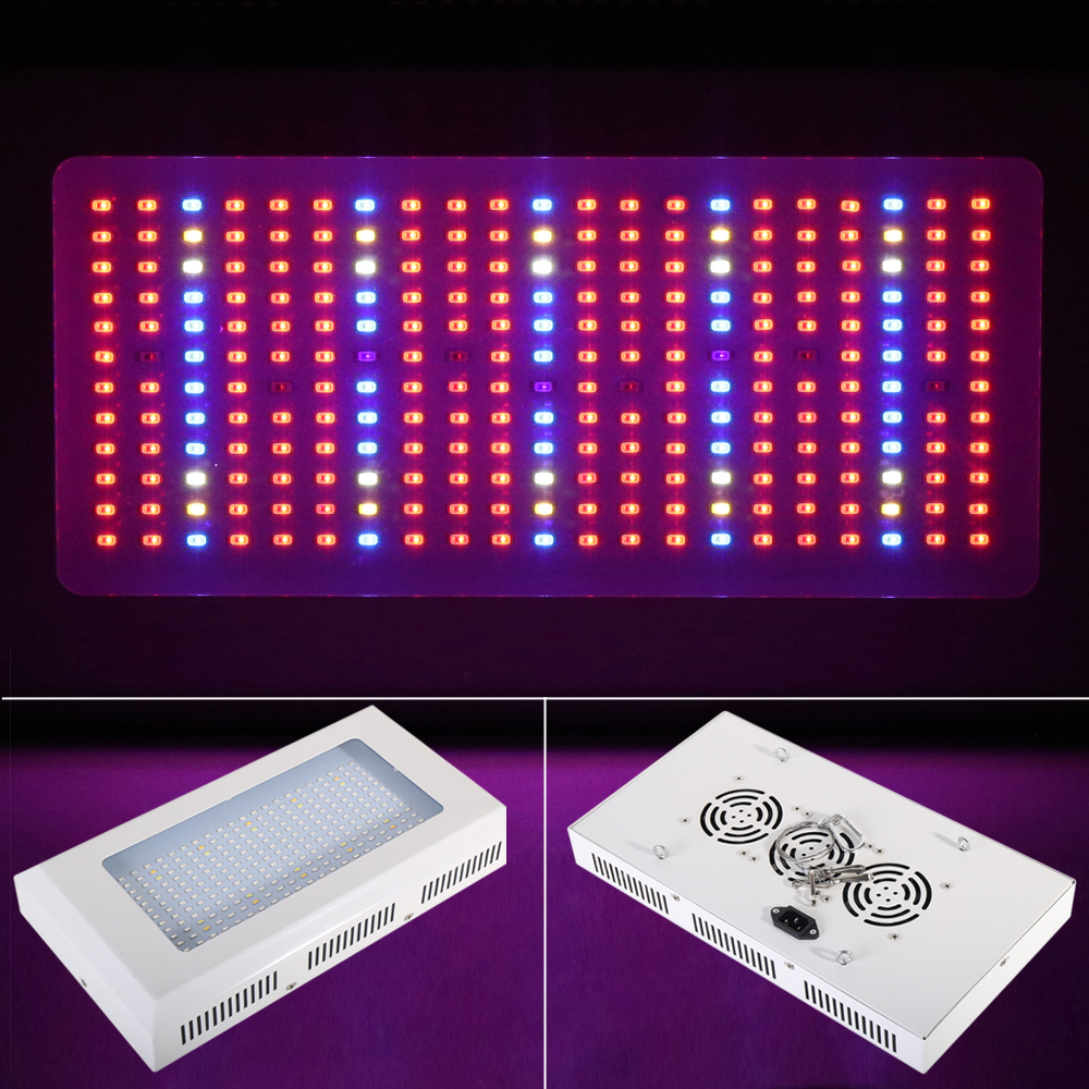 Full Spectrum 300W 252pcs SMD 183Red:40Blue:10White:10Warm:3UV:6IR LED Grow Light Hydroponics Garden Light Plant Lamp Wholesale 3 183 10 7706178 3