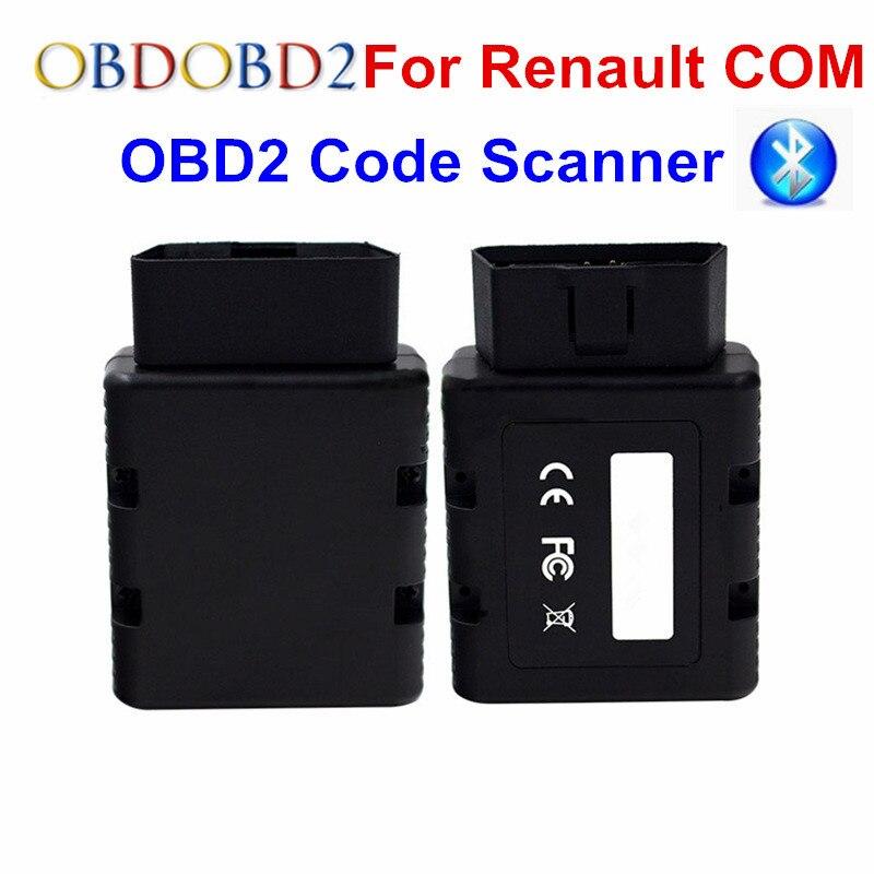 For Renault-COM Bluetooth Car Diagnostic Tool For Renault COM Diagnostic & Key Program Code Reader For Renault Can Clip 3502075 ecu decoder for renault silver
