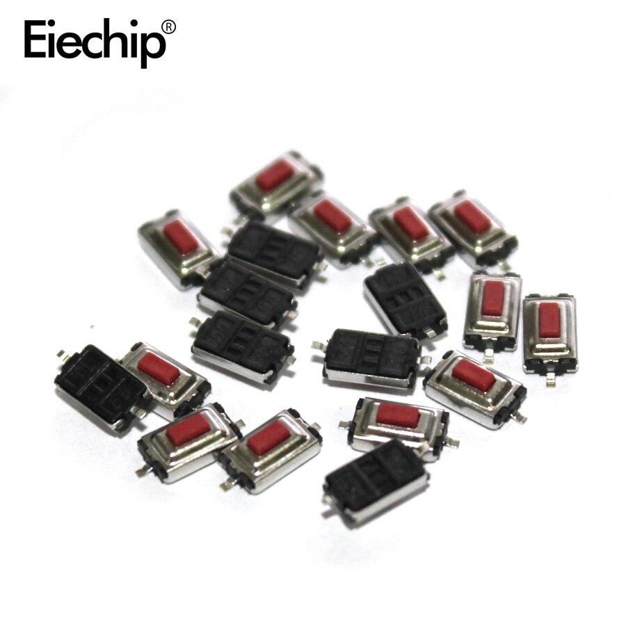 Elektronische Zubehör & Supplies Dämmstoffe & Elemente Obligatorisch Neue Original 100 Pcs 3*6*2,5mm 3*6*2,5 H Smd Rot Taste Schalter Key Switch Tact Schalter