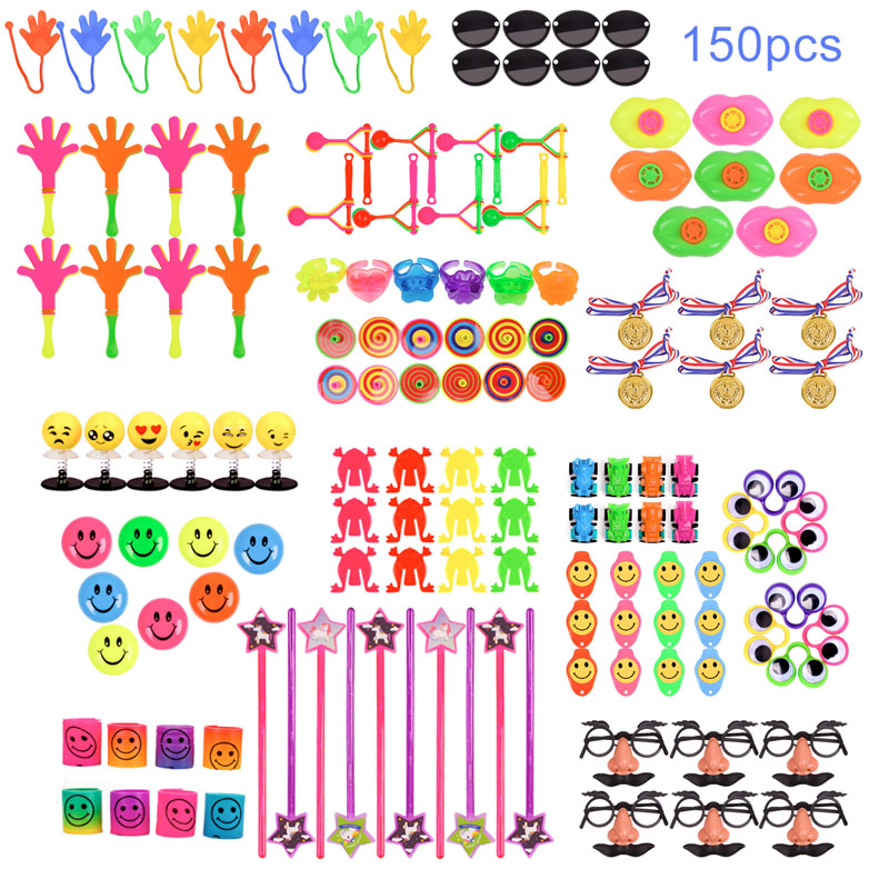 School Favors For Kids  Bags  80 Pcs Kids Supplies Small Bulk Toys For Birthday And Christmas Pinata Fillers For Children