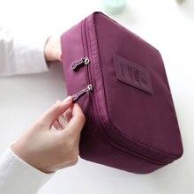 New Upgrade 8 Colors Organizer Bag Multi Functional Make Up Bag Cosmetic Bags Storage Women Men Casual Travel Bag Makeup Handbag
