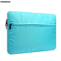 YNMIWEI Laptop Sleeve Bag Case 11 12 13 14 15 Inch Waterproof Nylon Hand Bags For