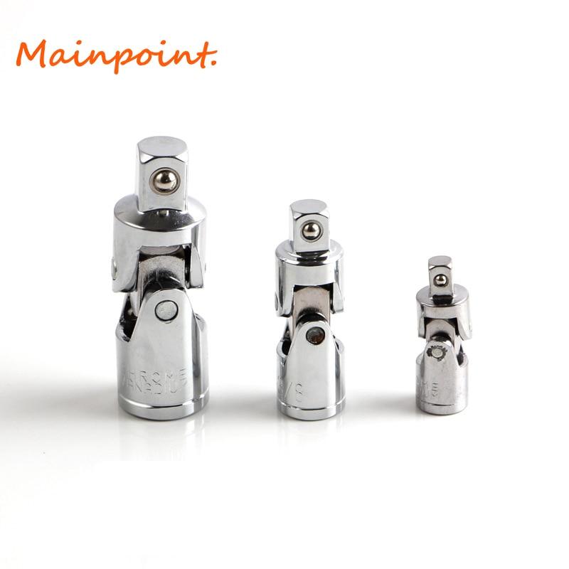 3 pz Socket Wrench Set Giunto Universale 1/4