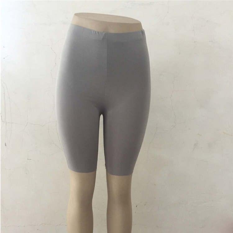 Ариэль Сара c высокой талией, эластичные шорты для йоги спортивные Леггинсы растягивающиеся леггинсы Фитнес спортивные тренажерный зал с йогой - Цвет: GY