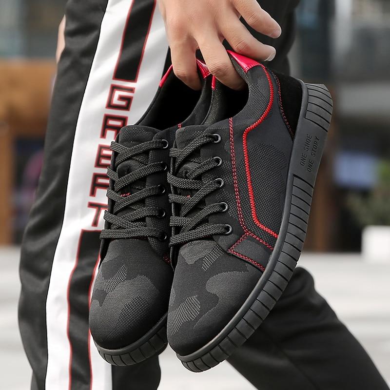 Mode Black Plein Hommes Mesh Miubu red De Respirant Hombre Air Nouveau Léger 2018 Casual Sapatos Zapatos Hiver Chaussures Automne zwwT6Bq