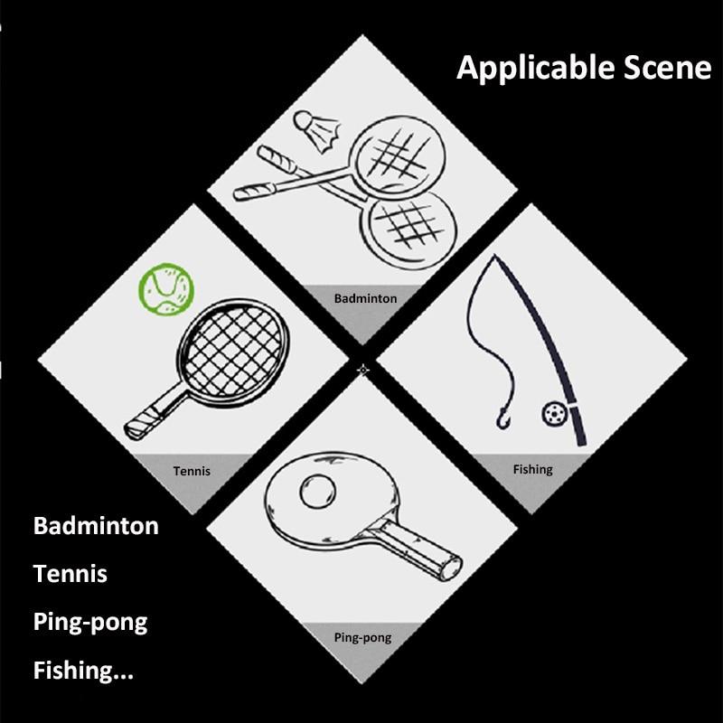 10 PCS/SET Anti Slip Head Overgrip Tennis Grip Racket Padel Accessories Shock Absorber Raquete De Tennis Badminton Training 6
