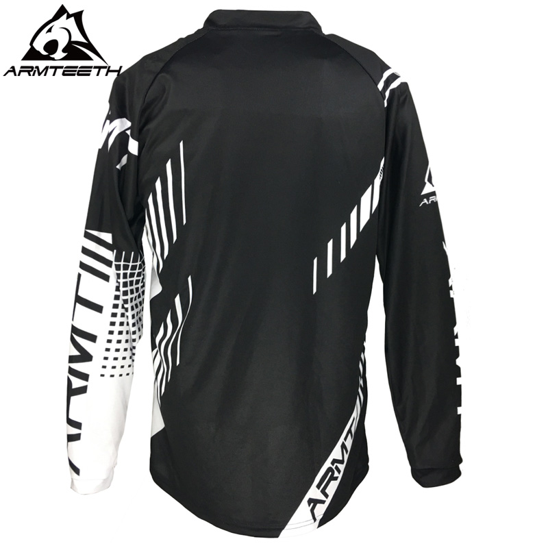 2018 Armteeth New Arrival Motorcycle Long Sleeve Racing Shirt Dirt Bike  Cycling Jersey DH MX Motocross Jerseys-in Cycling Jerseys from Sports ... 00abc05d8