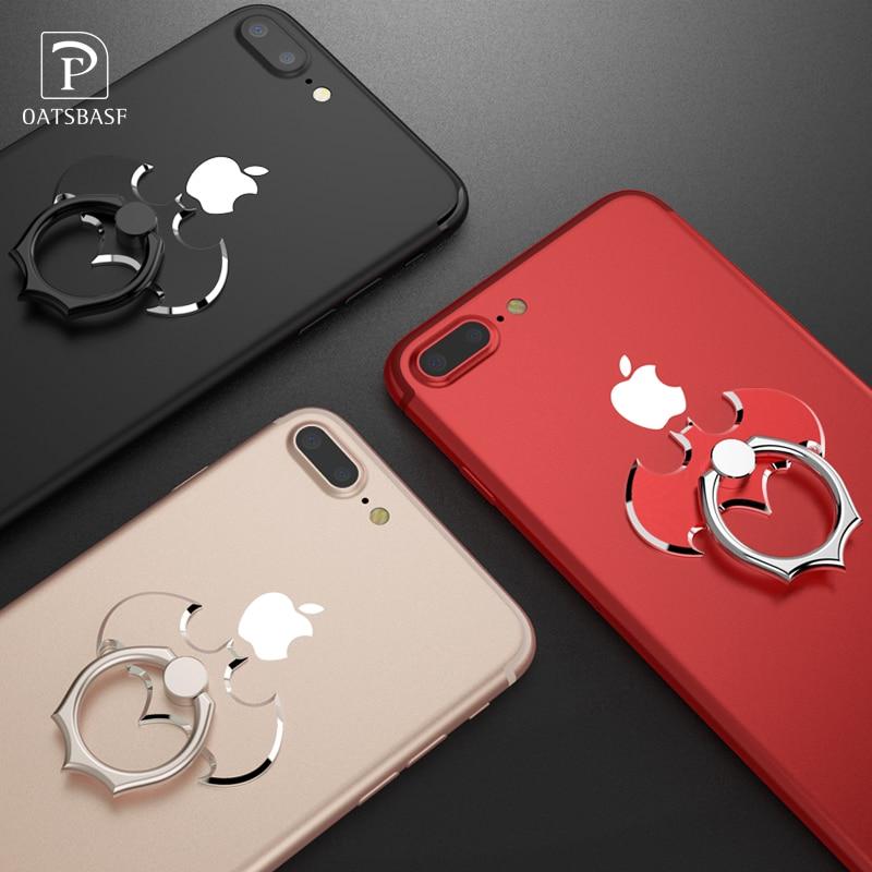 Oatsbasf Bat 360 Degree Rotate Holder Finger Ring Mobile Phone Stand Holder For iPhone/Samsung/Xiaomi All Smart Phone Holder