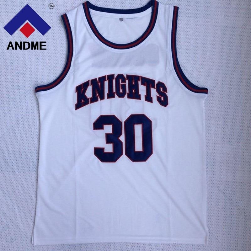 e26c010f4 Men Stephen Curry  30 Jersey Cheap Throwback Basketball Jersey Steph Curry  Charlotte Christian Knight High School Retro Shirts