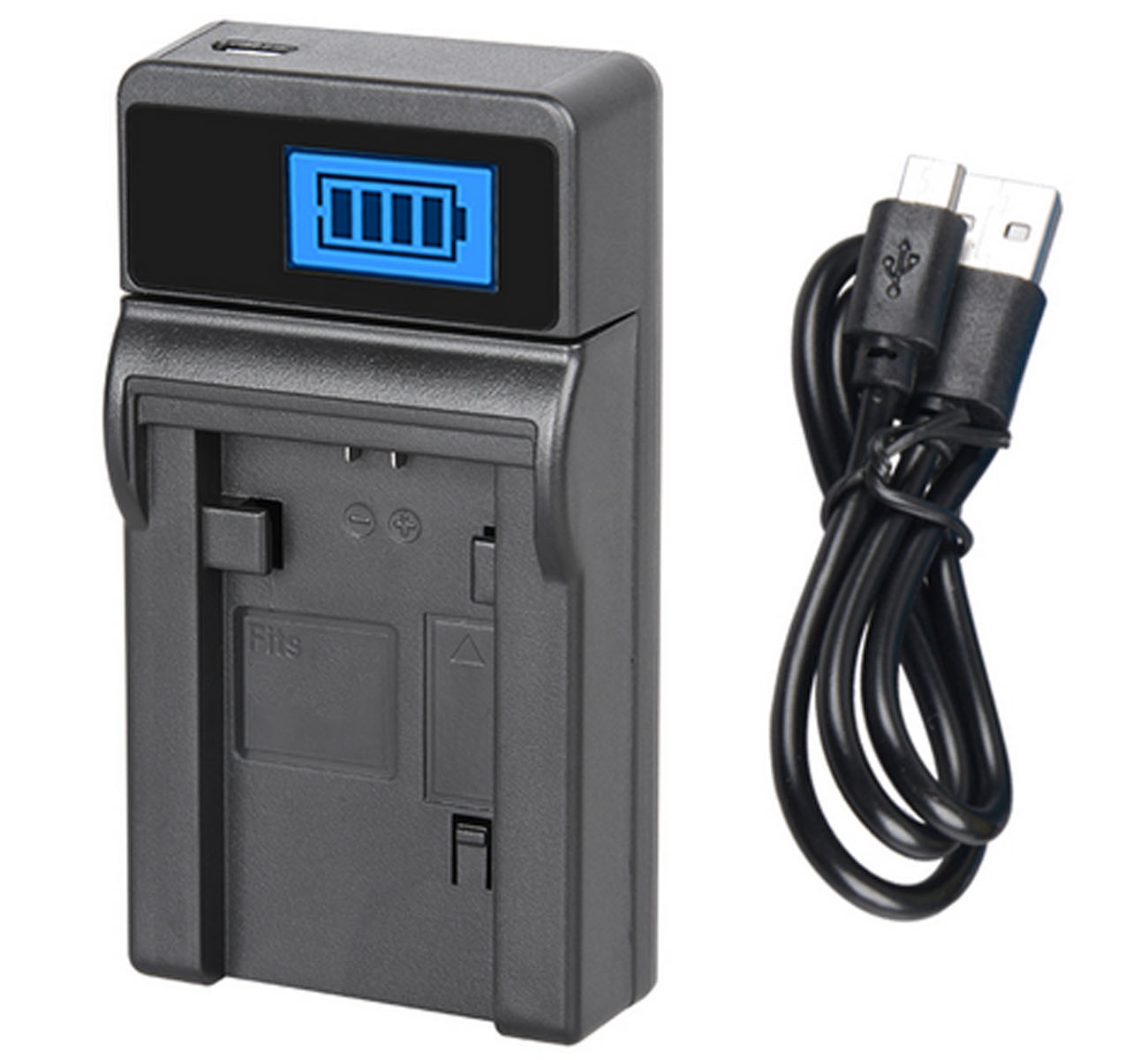 GZ-MG555U GZ-MG575 LCD USB Battery Charger for JVC Everio GZ-MG555 GZ-MG575U Camcorder