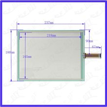 ZhiYuSun TASTITALIA 237*180mm 4Wire Resistive TouchScreen Panel Digitizer 237*180 this is compatible(China)