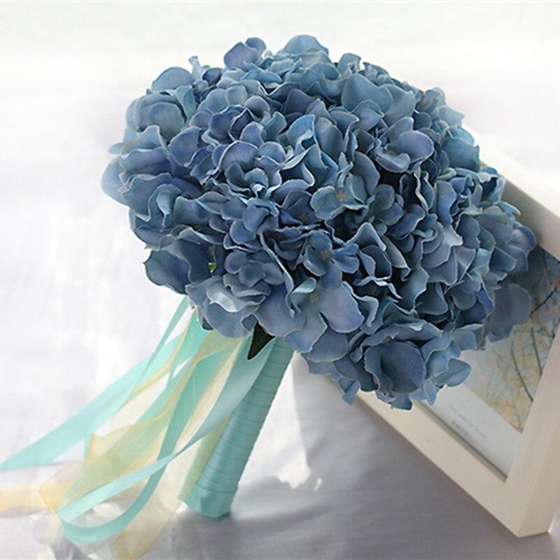 Free Shipping Wedding Flowers Flower Bouquet Buque De Noiva Roxo Trouw Boeket Wedding Flowers Bridal Bouquet Purple  Boeket