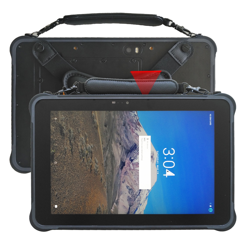 10.1 inch Rugged Tablet Android 7.0 RJ45 Port Hot swappable battery Rugged Tablet PC ST11-in Industrial Computer & Accessories from Computer & Office