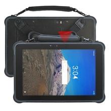 Tablet áspero de 10.1 polegadas android 7.0 rj45 porto bateria swappable quente áspero tablet pc st11