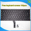 "Brand New AZERTY FR French keyboard+100pcs keyboard screws For MacBook Air 13.3"" A1369 A1466 2010-2015 Years"