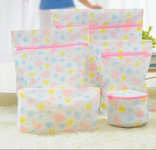 1PC Laundry Wash Bags Clothes Washing Machine Laundry Bra Aid Lingerie Mesh Net Women Hosiery Washing Protecting Bag