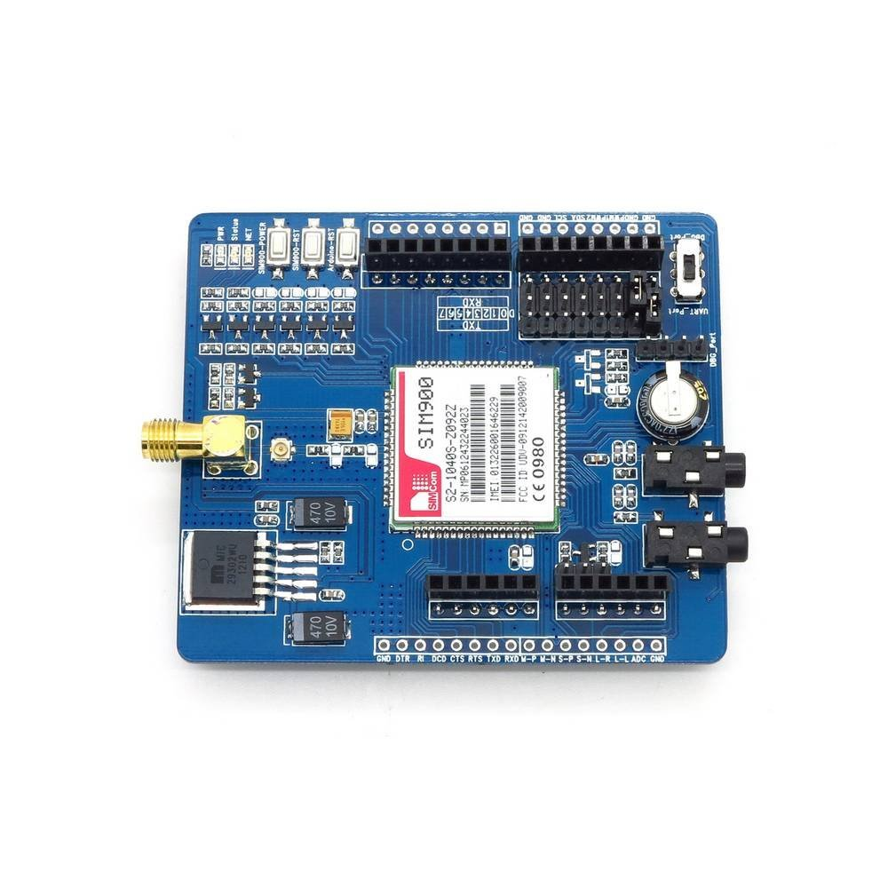 GSM / GPRS SIM900 Module Expansion Board Shield With Antenna For Arduino Mega-in Integrated Circuits from Electronic Components & Supplies    2