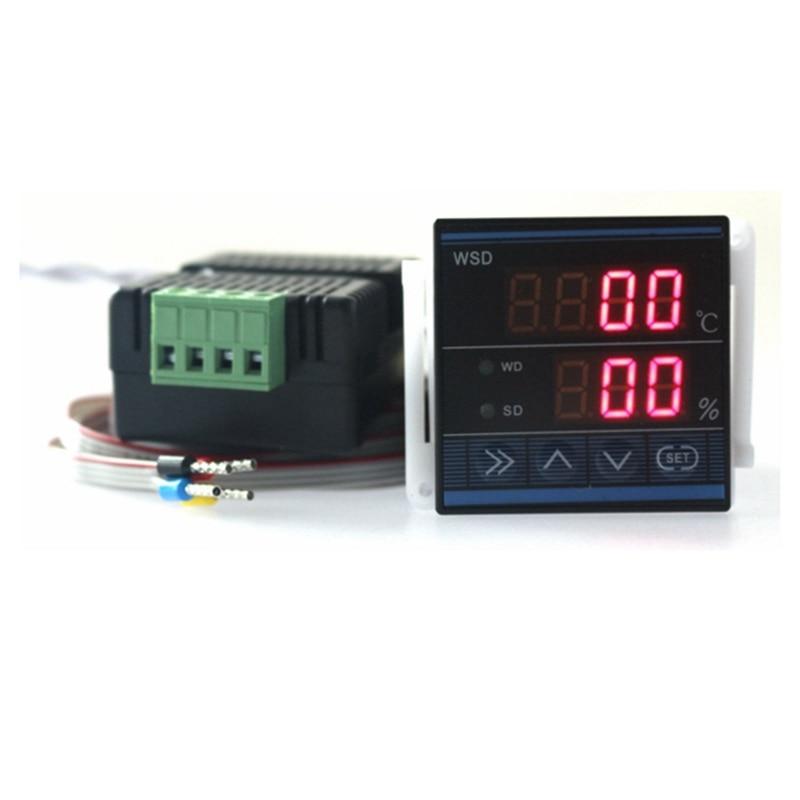 Новый (48 * мм 48 мм) цифровой Температура Влажность управление Лер термостат TDK0348LA с 3M провода Бесплатная доставка