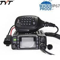 TYT TH 8600 Мини Dual Band IP67 Водонепроницаемый мобильный трансивер 136 174 мГц/400 480 мГц 25 Вт любитель автомобиль, Радио HAM мобильный радиотелефон