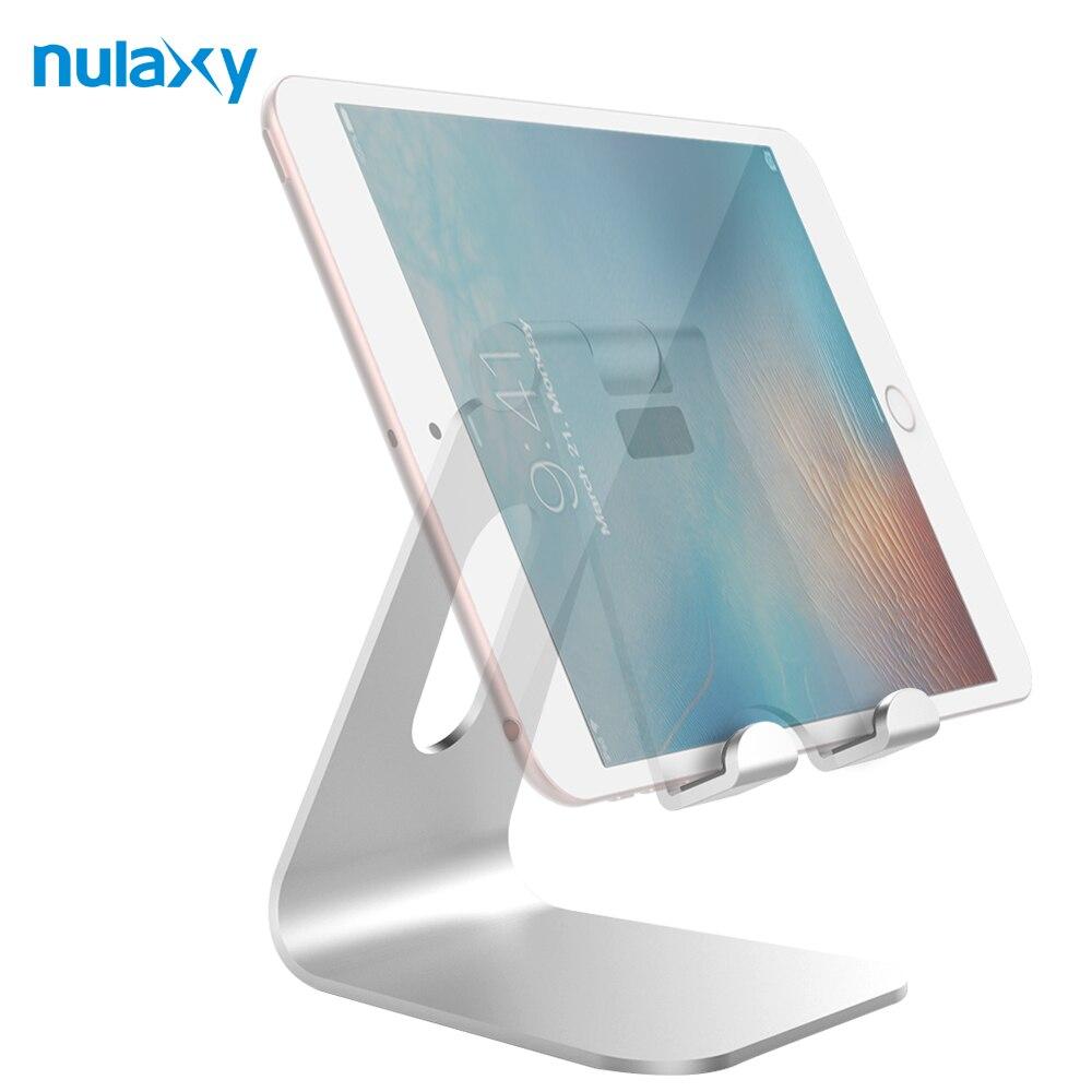 imágenes para Nulaxy Tablet Soporte Holder Soporte de Escritorio Para iPad Teléfono Móvil Ajustable Holder Muelle lector de libros Electrónicos para el ipad de Aire 2 3 4 Pro mini Nexus