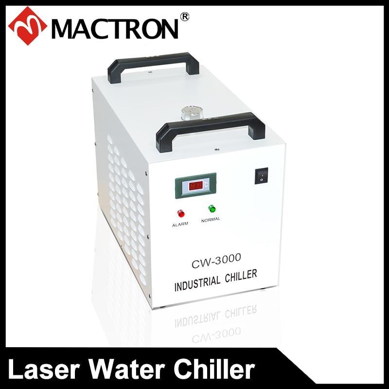 Enfriador de agua láser de alta calidad CW3000 para máquina de corte y grabado láser 220V 50HZ CW3000AG