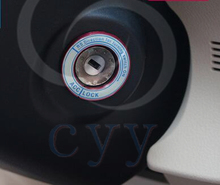 start stop engine system to auto start the color key ring for Toyota Corolla 2014 auto accessories car styling