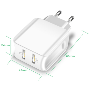 Image 2 - Suntaiho Travel Wall Charger Universal Dual USB Port Charger for iPhone/Samsung/Xiaomi/iPad Adapter Smart Mobile Phone Charger