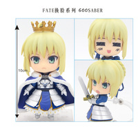 1pcs 10cm pvc Japanese anime figure Nendoroid Fate 600# Fate Grand order knight ver action figure collectible model toys