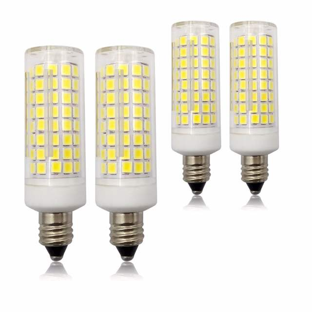 Us 16 05 15 Off E11 Led Bulbs Dimmable 75w Or 100w Halogen Bulbs Replcement 7w Equivalent 850lm Jd T3 T4 E11 Mini Candelabra Base St403 In Led