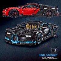 Техника серии модель автомобиля fit legoings техника Bugatti Chiron гоночный автомобиль 42083 строительный блок кирпич Малыш diy Развивающие игрушки подар