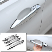 Car Styling Exterior Chrome Side Door Handle Decoration Cover Trim 8pcs For BMW X1 F48 / X2 F39 2018 2019
