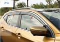 Accesorios Para Nissan Qashqai 2014 2015 Ventana Toldos Viseras Deflector de Viento Lluvia Visera Guardia Vent Guarnición 4 unids/set Modling