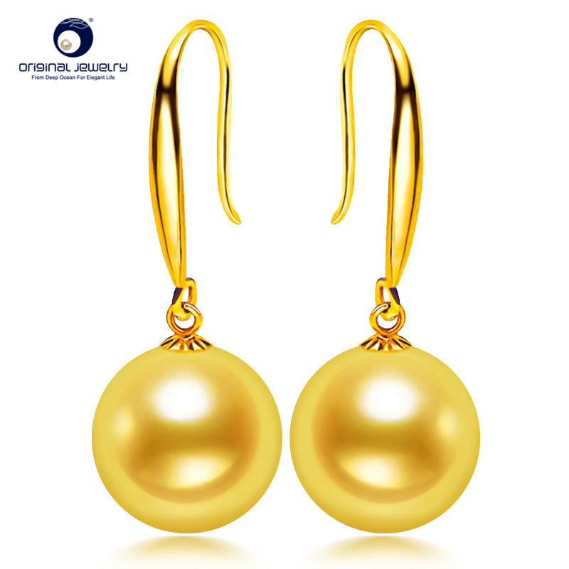 [YS] Hot Sale Classic Style Earring 7.5-8mm Japanese Akoya Pearl Drop Earrings