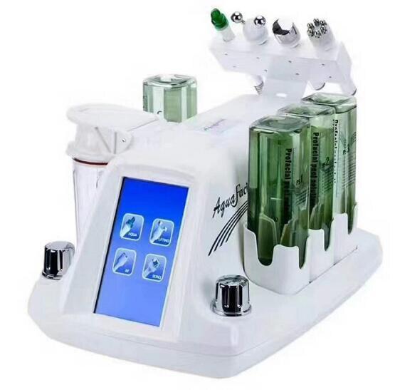 2019 New  Bio-lifting Spa Facial Machine / Aqua Facial Cleaningl Machine /water Peeling Dermabrasion Free Shpping