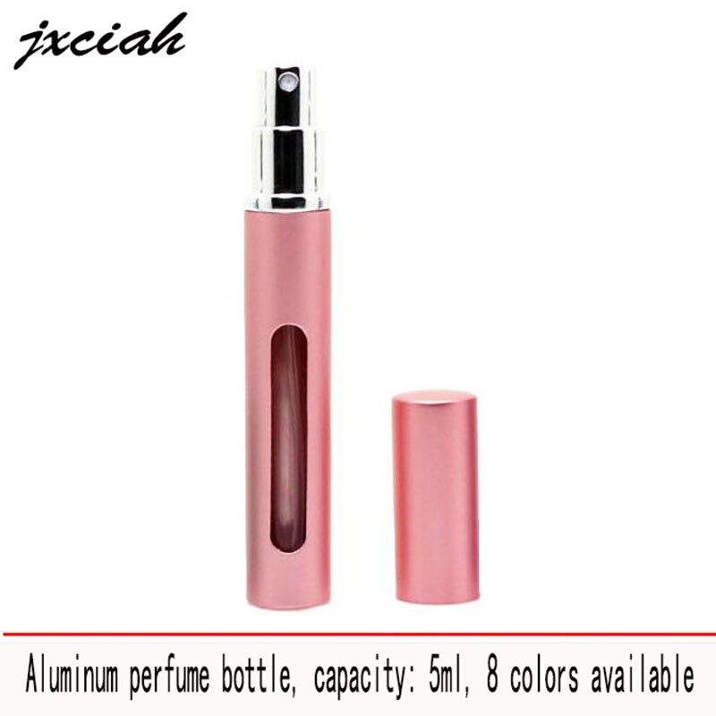 5ml Reise Mini Tragbare Nachfüllbare Parfüm Zerstäuber Flasche Parfüm Flasche Für Spray Duft Pumpe Fall Leere Kosmetische Behäl