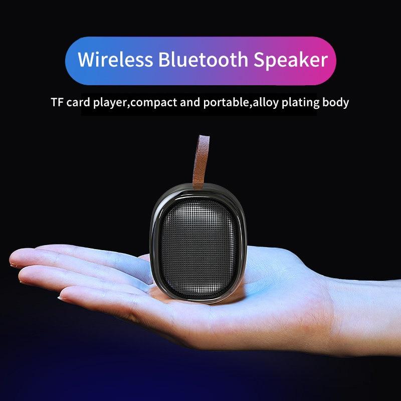 ワイヤレス Bluetooth スピーカーミニポータブルスピーカーサブウーファースピーカー防水屋外ステレオ音楽サラウンドプレーヤー V6  グループ上の 家電製品 からの ポータブルスピーカー の中 2