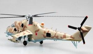 Image 2 - トランペット 1: 72 ロシア空軍 Mi 24 武装ヘリコプター 37035 完成品モデル