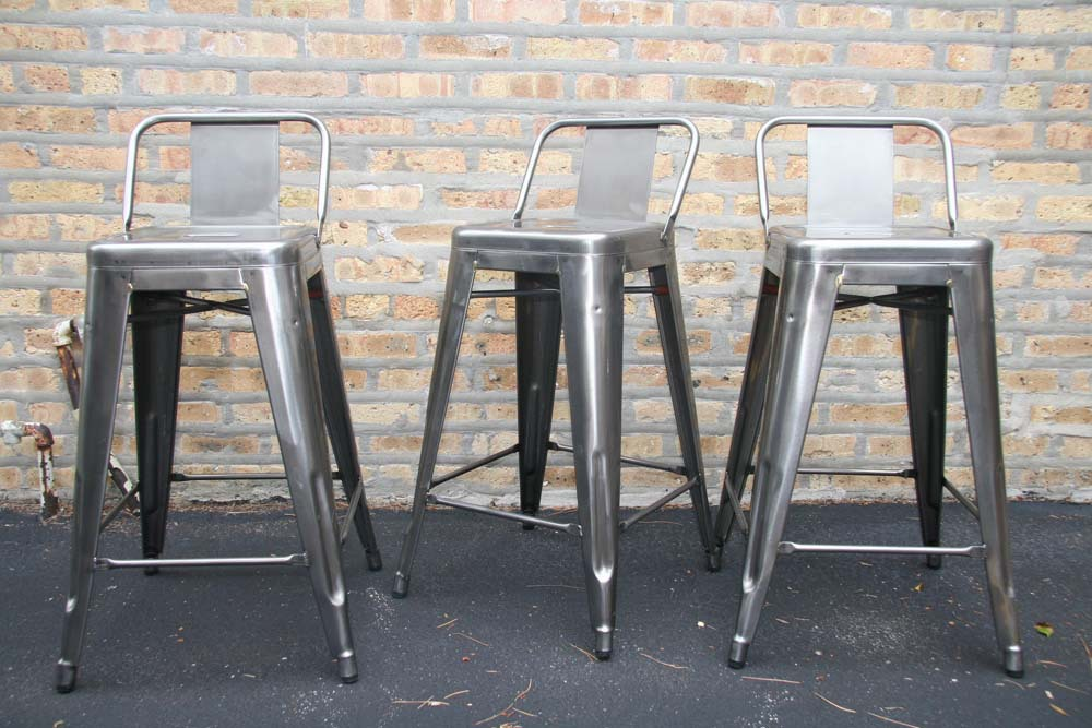 Continental Tall Bar Stool Bar Chair IKEA Metal Retro Minimalist Modern  Leisure Industry Back Barstool In Bar Stools From Furniture On  Aliexpress.com ...
