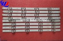 """8 комада (4 * А + 4 * Б) ЛЕД траке за ЛГ 39 инчни ТВ 390ХВЈ01 иннотек ДРТ 3.0 39 """"-А / Б тип 4 ЛЕДС 403мм"""