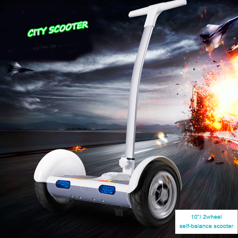 2 Wheel Electric Standing Scooter Handrail Electric