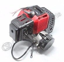 49cc motor kunststoff pull e start 15mm vergaser mini moto tasche atv quad buggy dirt pit bike chopper gas roller