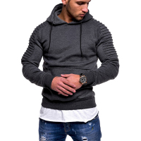 TOLVXHP NEW 2018 Fashion Men Brand Casual Men Sweatshirt Solid Color Hoodie Jaskets Male Hoodies Men