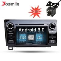 4GB RAM Android 8.0 Car DVD Player Stereo Radio For Toyota Tundra 2007 2013 & Sequoia 2008 2015 Radio GPS Navigation DAB+ Wifi