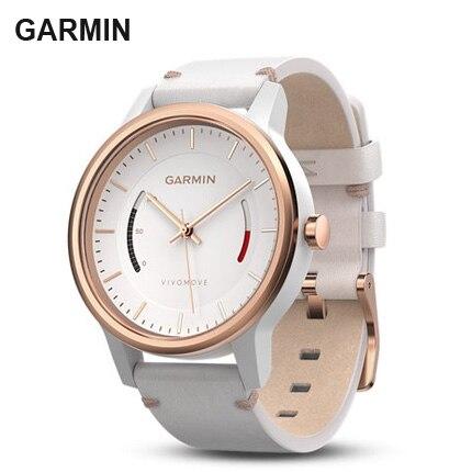 Original Garmin Vivomove  Fitness Sleep Tracker Bluetooth  50m Waterproof Fashion Classic Women Sports Watches Q50 Dz09 B57 S226