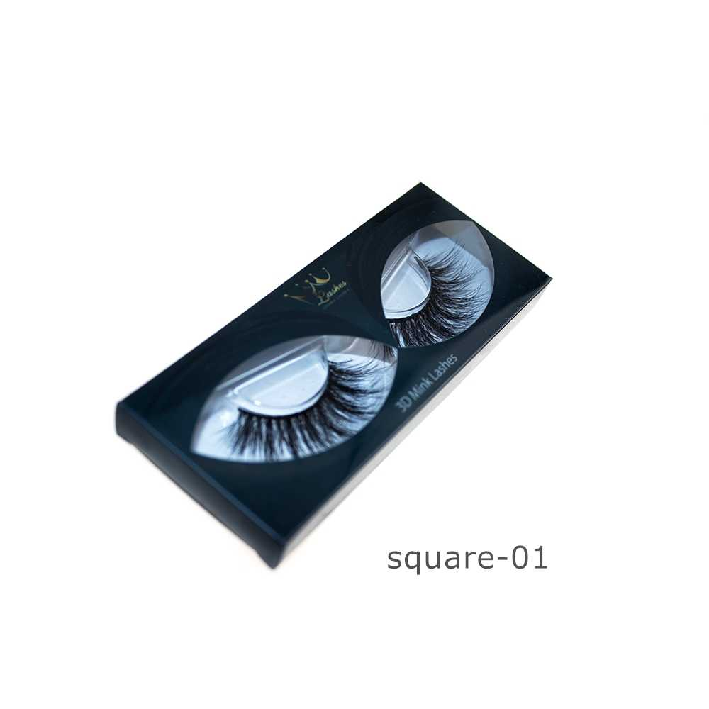 2a4ff5cc897 CrownLashes Create your own brand 3d mink eyelashes false silk synthetic  eye lashes private label custom